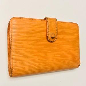 LPUIS VUITTON Mandarin Epi French Purse Wallet